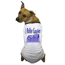 I Roller Coaster Dog T-Shirt