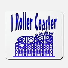 I Roller Coaster Mousepad