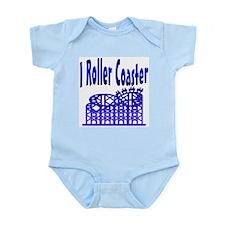I Roller Coaster Infant Creeper