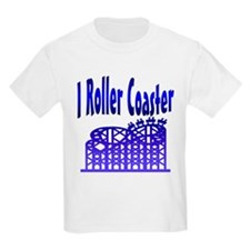 I Roller Coaster Kids T-Shirt