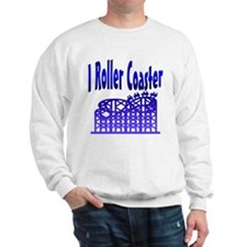 I Roller Coaster Sweatshirt