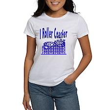 I Roller Coaster Tee