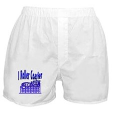 I Roller Coaster Boxer Shorts