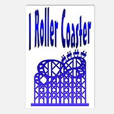 I Roller Coaster Postcards (Package of 8)