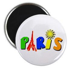 Paris Eiffel Tower Magnet