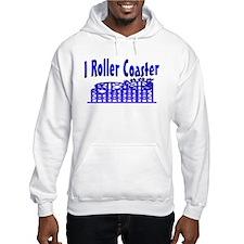 I Roller Coaster Hoodie