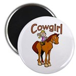 Cowgirl Magnet