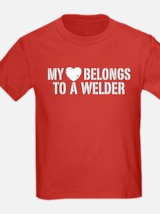 My Heart Belongs to a Welder T