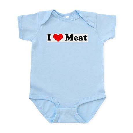 I Love Meat Infant Creeper