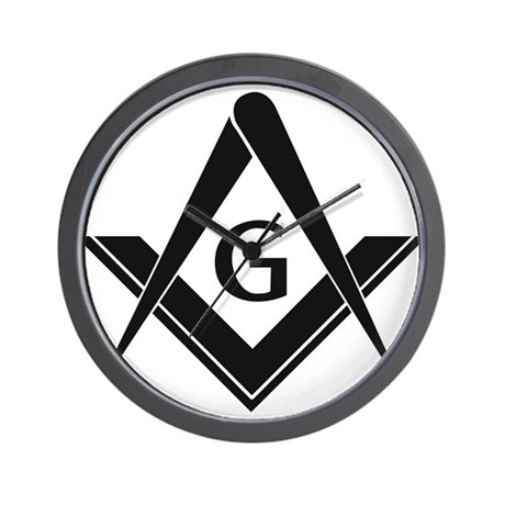 Freemason Merchandise Wall Clock
