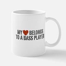 My Heart Belongs to a Bass Player Mug