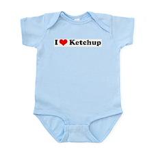 I Love Ketchup Infant Creeper
