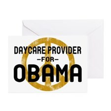 Daycare for Obama Greeting Cards (Pk of 10)