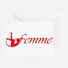 Femme 2r Greeting Cards (Pk of 10)