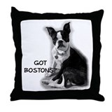 Got boston Throw Pillows