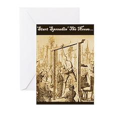 Start Spreadin' The Noose, Goodbye Cards (10)