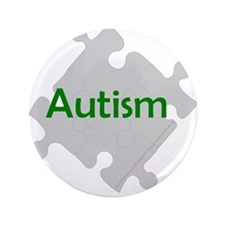 "Autism 3.5"" Safety/identification Button"