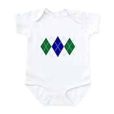 Argyle Saint Triple Infant Bodysuit