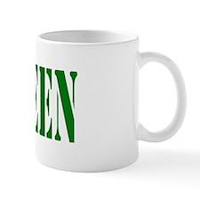 Cute Green is the new black Mug