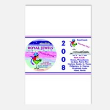 Royal Jewels Puna Puna '08- Postcards (Package of
