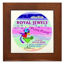 Royal Jewels Puna Puna '08- Framed Tile