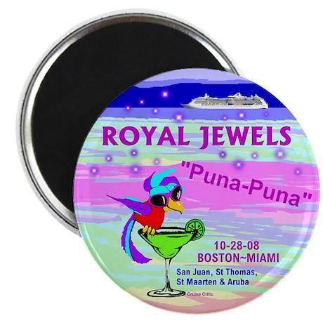 "Royal Jewels Puna Puna '08- 2.25"" Magnet (10 pack)"