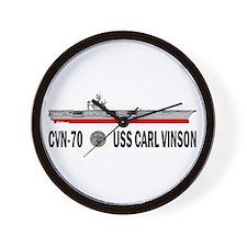 USS Vinson CVN-70 Wall Clock