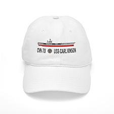 USS Vinson CVN-70 Baseball Baseball Cap