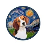 Starry Night Beagle #1 3.5