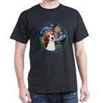Starry Night Beagle #1 Dark T-Shirt