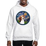 Starry Night Beagle #1 Hooded Sweatshirt