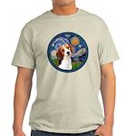 Starry Night Beagle #1 Light T-Shirt