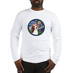 Starry Night Beagle #1 Long Sleeve T-Shirt