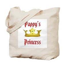 Pappy's Princess in Red Tote Bag