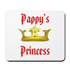 Pappy's Princess in Red Mousepad