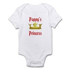 Pappy's Princess in Red Infant Bodysuit
