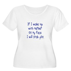Marker on My Face Stab You T-Shirt