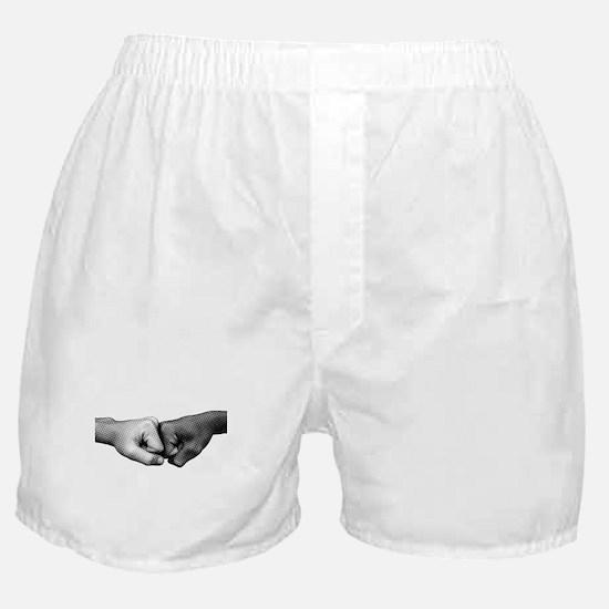 Fist Bump Boxer Shorts