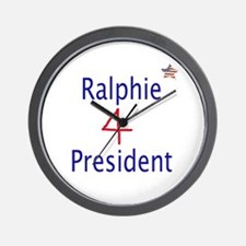 Ralphie for President Wall Clock