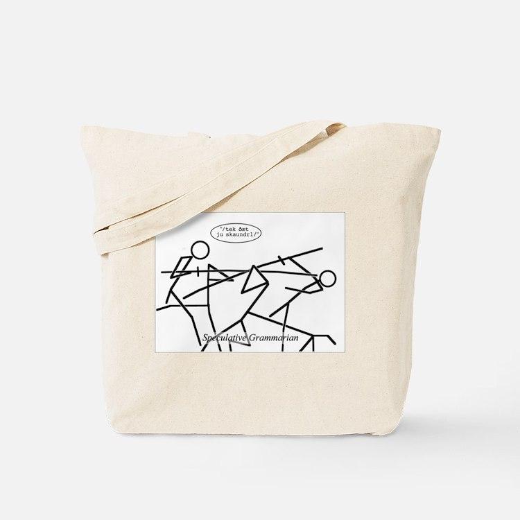 SpecGram Phonology/Phonetics Tote Bag