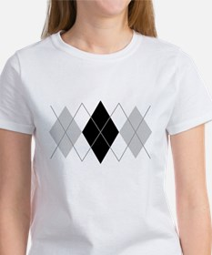 Argyle Grey Triple Women's T-Shirt