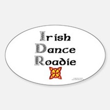 Irish Dance Roadie - Oval Decal