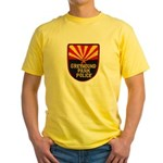 Greyhound Police Yellow T-Shirt
