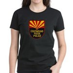 Greyhound Police Women's Dark T-Shirt