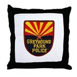 Greyhound Police Throw Pillow