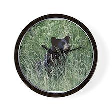 teen bear Wall Clock