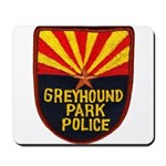Greyhound Police Mousepad