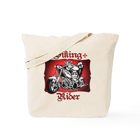 Viking Rider Tote Bag