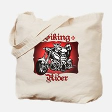 Viking Rider Tote Bag