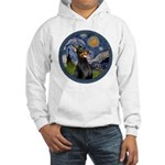 Starry Night Doberman (#1) Hooded Sweatshirt